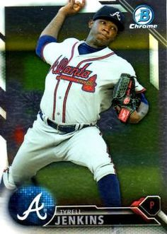 2016 Bowman - Chrome Prospects #BCP112 Tyrell Jenkins Front