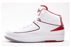 AIR JORDAN 2 (WHITE/VARSITY RED) | Sneaker Freaker