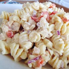 """Chicken Caesar Pasta Salad