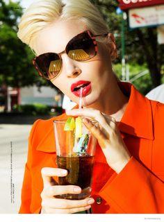 blondie style matallana shoot09 Blondie Style: Anna Piirainen by Matallana for Blank Magazine