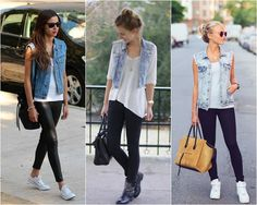 Ó, as fast fashion estão CHEIA DELES! E como falei no post passado, é uma ótima peça para compor looks! Sabe aquela história que toda produção tem que ter uma terceira peça? Pois é, no verãozão, o colete jeans veio para nos salvar! Pode ser colete de alfaiataria também? POOOOOODEEEE, mas o jeans deixa o …