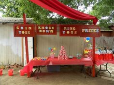Circus Party #circus #party, This is the cutest idea, love it!!!