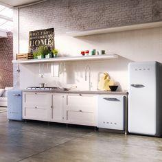 Cozy•Stylish•Chic | Retro Kitchen Appliances – 50s Styling with Today's Modern Technology | http://www.cozystylishchic.com