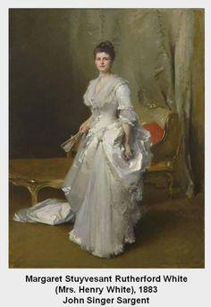 Margaret Stuyvesant Rutherford White (Mrs. Henry White) 1883 John Singer Sargent