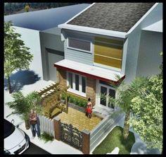 Mẫu thiết kế nhà phố có tầng lửng đẹp mặt tiền 5m ở Kiên Giang