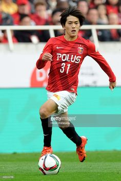 Toshiyuki Takagi of Urawa Red Diamonds in action during the J.League match between Urawa Red Diamonds and Vissel Kobe at Saitama Stadium on November 22, 2015 in Saitama, Japan.