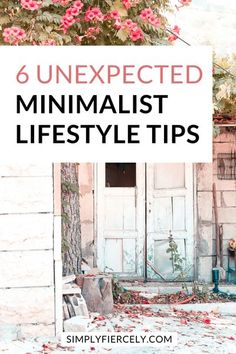 Are you struggling to create a minimalist lifestyle? If so, then these powerful (but unexpected!) minimalist lifestyle tips will help you move forward and create real, sustainable change. Minimalist Living Tips, Minimalist Lifestyle, Minimalist Home, Minimalist Wardrobe Essentials, Enjoying The Small Things, Apartment Decorating On A Budget, Move Forward, Less Is More, Along The Way