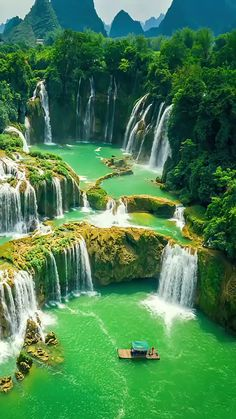 Beautiful Nature Pictures, Beautiful Places To Travel, Nature Wallpaper, Amazing Destinations, Dream Vacations, Aesthetic Pictures, Travel Guides, Waterfall, Cute Animals