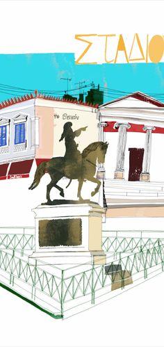 Philippos Theodorides » Illustrations