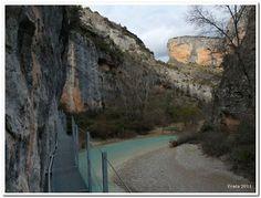 Excursiones para peques: Alquezar - Río Vero por las pasarelas