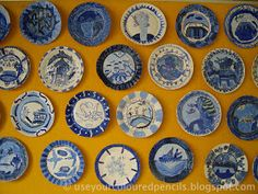 My mum has always had a large Willow Pattern collection and the images have fascinated me for a long time. This lesson is inspired by her...