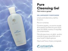 Nu Skin, Best Skincare Products, Pure Products, Cleansing Gel, Belleza Natural, Face And Body, Vodka Bottle, Lips, Skin Care