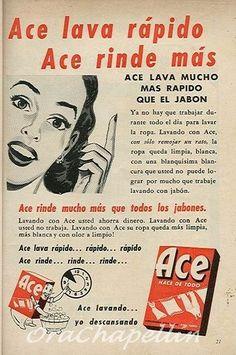 Ace fue el primer detergente que llegó a Venezuela en 1947. Años después, en 1952 –cuando Procter crea su primera planta en la urbanización La Yaguara– se convirtió, entre otros, en el producto insignia de la empresa. ACE nace como una versión de Tide, detergente de P&G en Estados Unidos que fue ideado para América …
