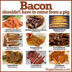 There's also a seaweed bacon I've heard of