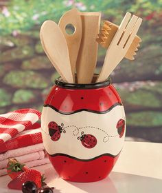 Ladybug Kitchen Collection The Lakeside Collection