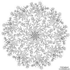 ≡ coloring page Treedala