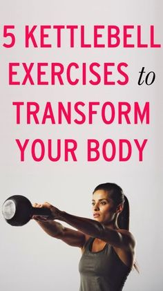 Workout Tips : 5 kettlebell exercises to try now. - All Fitness Sport Fitness, Fitness Diet, Health Fitness, Body Fitness, Chubby, Nutrition Sportive, Fitness Motivation, Zumba, Academia