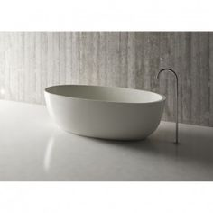 "Mineralguss Badewanne ""Relino""aus Solid Surface in Glanz od"