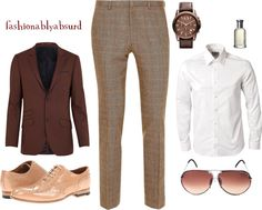 """""""Mens"""" by fashionablyabsurd ❤ liked on Polyvore"""