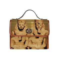 Temple of Sun Waterproof Canvas Bag/All Over Print. FREE Shipping. #artsadd #bags #egypt