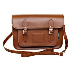 Zatchels Leather Satchel (130 CAD) ❤ liked on Polyvore featuring bags, handbags, accessories, chestnut, women, women's bags, brown leather handbags, brown handbags, genuine leather purse and satchel purses