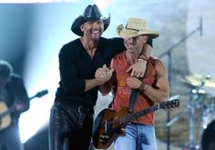 Kenny Chesney and Tim McGraw - 47th Annual Academy Of Country Music Awards - Show