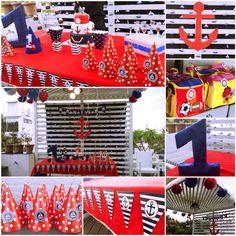 Sailor themed birthday party !