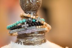 Love the tiny beads with sparkle!