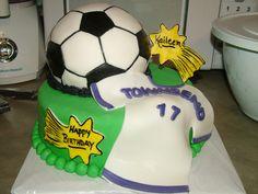 Kaileens Soccer Birthday Cake