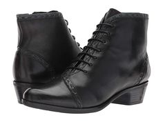 Victorian Boots   Shoes – Granny Boots   Shoes Spring Step Jaru Black  Womens Lace- 4f62d31b0bd