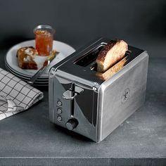Williams Sonoma Open Kitchen 2-Slice Stainless Steel Toaster #westelm