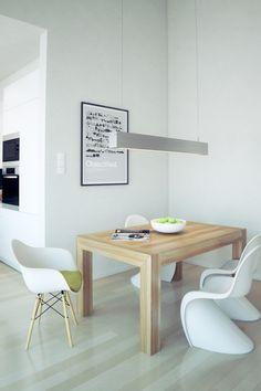 Beautiful Minimalist Interiors. Hausbau IdeenHaus BauenEinrichten Und Wohnen EsszimmerInnendesignWohnzimmerModerne ...