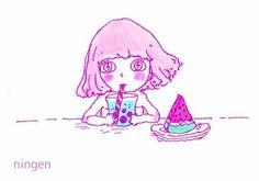ningenちゃん [ID:45149671] の画像