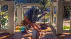 Kathryn Budig's Gratitudasana: Humble Flamingo | Yogis always find a way to extend the month's gratefulness beyond the edges of our stuffed plates and back onto our mats.