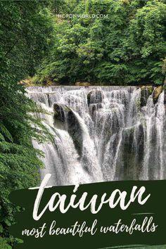 6 Jaw-Dropping Taiwan Waterfalls You Can't Miss | Hoponworld Travel Guides, Travel Tips, Taiwan Travel, Beautiful Waterfalls, Niagara Falls, Most Beautiful, Outdoor, Outdoors, Travel Advice