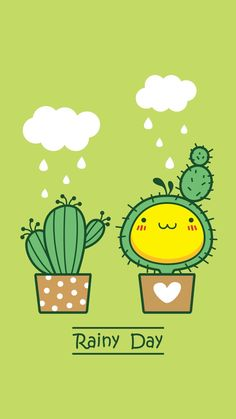 รวมไอเดียแต่งโต๊ะทำการบ้านกว่า 20 รูป เห็นแล้วอยากระเบิดโต๊ะตัวเองทิ้ง 55555+ - Dek-D.com > มีรูปเด็ด > รูปสิ่งน่าสนใจ Cactus Backgrounds, Wallpaper Backgrounds, Iphone Wallpaper, Kawaii Drawings, Doodle Drawings, Cute Drawings, Simple Illustration, Funny Illustration, Cactus Stickers