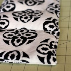 A great sewing project, a handmade rice-filled heating pad.