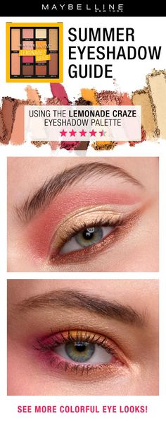 This summer go for eyes with a pop of color pink eye looks can be who is looking for eyes that pop in color bring on wearable neutrals with bold ccuart Choice Image