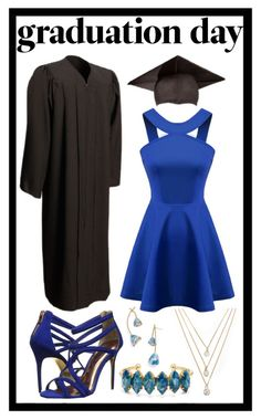 """264: Graduation Outfit"" by alinepelle ❤ liked on Polyvore featuring Forever 21, Chicnova Fashion, Ted Baker, Elizabeth Cole, Tory Burch and graduationdaydress"