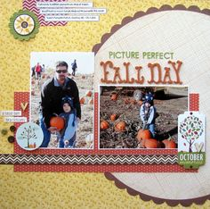 Picture Perfect Fall Day - Autumn Layout