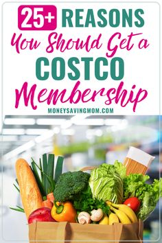 If you need to have a grocery list on a budget, then check out these reasons to get a Costco membership! You'll be saving money and stocking up at the same time! Money Saving Mom, Make Money Blogging, Money Tips, Frugal Meals, Freezer Meals, Freezer Recipes, Freezer Cooking, Cooking Tips, Costco Sheet Cake
