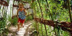 Kinderen ontwerpen groene schoolpleinen