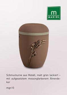 mgn10 – Metall-Urne * Mehr Auswahl finden Sie unter: www.makiol.de/sarge-und-urnen/