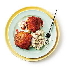 Buffalo Chicken Thighs - Cooking with Chicken Thighs - Cooking Light