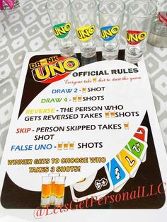 Teen Party Games, Sleepover Games, Sleepover Party, Uno Drinking Game, Drinking Games For Parties, Monopoly Drinking Game, Alcohol Games, Alcohol Drink Recipes, Party Drinks
