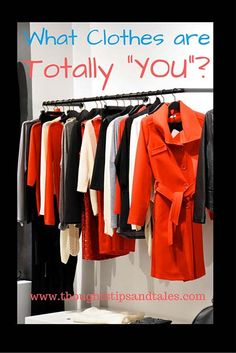 "In the latest ""O"" magazine, editors asked readers to describe ""What clothing item is totally 'you'"" -- which got me thinking... It's an intriguing question."