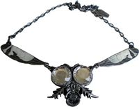 Return Of The Fly Necklace Clear #goth #gothic #punk #punkrock #rockabilly #psychobilly #pinup #inked #alternative #alternativefashion #fashion #altstyle #altfashion #clothing #clothes #vintage #noir #infectiousthreads #horrorpunk #horror #steampunk #zombies #burningmanclothing #kreepsville666