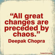 Does this mean great changes are about to happen to me?  ;)
