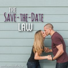 The laws of save-the-dates on the blog today! Make sure to check it out!