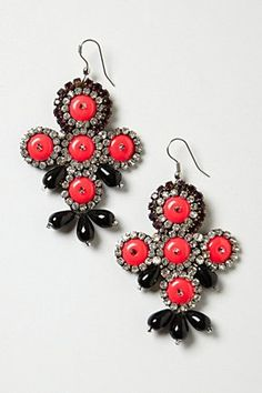 I'm all for statement earrings.